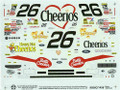 1458 #26 Gold Cheerios 1999 Johnny Benson