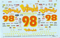 1005 #98 Bojangles (Black Car) 1993 Derrike Cope