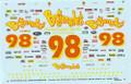 1005 #98 Bojangles (Black Car) 1993 Derrike Cope