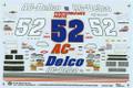 1092 #52 AC Delco 1995 Ken Schrader