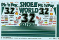 1032 #32 Shoe World 1994 Dale Jarrett