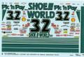 1032 #32 Shoe World 1994 Dale Jarrett