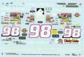 1033 #98 Fingerhut 1994 Derrike Cope