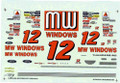 #12 MW Windows 1996 Michael Waltrip