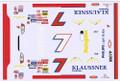 #7 Klaussner 1999 Michael Waltrip