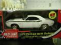 """71 Challenger """"Red Line Oil"""" 1/18 white"""