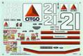 #21 Citgo Thunderbird 1996 Michael Waltrip