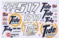 #5/#17 Tide 1990-92 Ricky Rudd   Darrell Waltrip