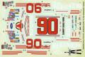 #90 Bulls Eye 1988 Thunderbird Benny Parsons