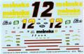 1002 #12 Meineke 1993 Jimmy Spencer