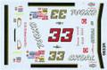 #33 Skoal red 1999 Ken Schrader