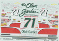 1090 #71 Olive Garden 1995 Dave Marcis