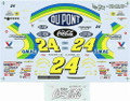 #24 DuPont 1995 Jeff Gordon