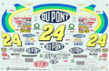 #24 DuPont 1997 Jeff Gordon