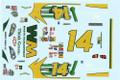 #14 Waste Management Monte Carlo 2006 Sterling Marlin