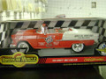 55 Chevy Indy Pace Car 1/18 red/white