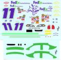 #11 Fed Ex Home Delivery Monte Carlo Denny Hamlin