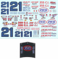 #21 JW Hunt Produce Monte Carlo/Nova/Ventura-Donnie Allison David Pearson