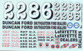 GR11008 Race Sheet