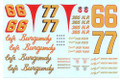 #66 #77 Cafe Burgundy 1962 Larry Frank Jim Reed
