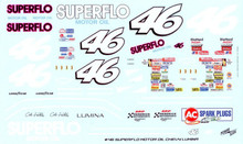 46 Superflo Motor Oil 1990 Cole Trickle Southern