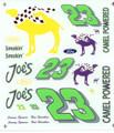 #23 Smokin Joes Thunderbird Jimmy Spencer Hut Stricklin