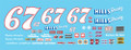 #67 Hills Racing blue 1981 Buddy Arrington