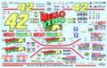 #42 Mello Yello 1991-94 Kyle Petty