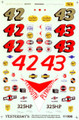 #42/#43 Plymouth 1959-61 Lee Petty Richard Petty