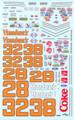 261 #28/#32/#38 Hardees Alan Kulwicki Cale Yarborough