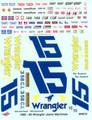 WW75 #15 Wrangler 1982-83 Dale Earnhardt