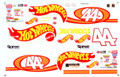 #44 Hot Wheels 1998 Kyle Petty