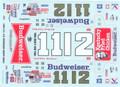 WW79 #11/#12 Budweiser 1984 Neil Bonnett Darrell Waltrip