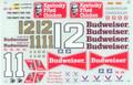 #11/#12 Budweiser 1984 Neil Bonnett Darrell Waltrip