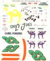 #23 Camel 1994-95 Jimmy Spencer Hut Stricklin