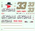 #33 Skoal Chevrolet Monte Carlo Ken Schrader