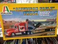 """3826 """"American Eagle"""" Truck with U.S.Reefer Trailer"""