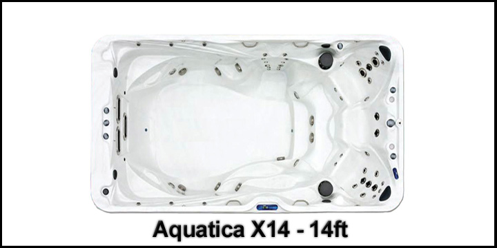 Premium Leisure Aquatica 14 Swim Spa from Half Price Hot Tubs