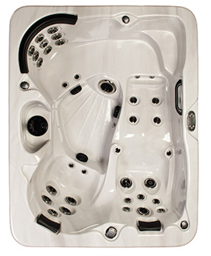 Four Winds Cyclone Series Trilogy II Spa from Half Price Hot Tubs of Boothwyn, PA