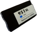 HP 951XL Cyan Inkjet Cartridge CN046AN  compatible with the HP OfficeJet Pro 8600 . The use of compatible supplies does not void your printer warranty.