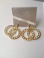 Double Circle Link Earrings