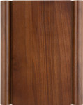KP-460, walnut plaque w/scrolled edges