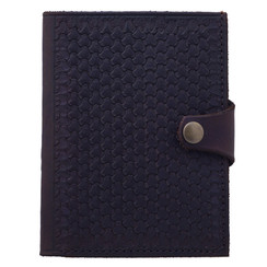 Rambler Passport Travel Wallet- Honeycomb hand stamp