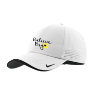 Nike White Dri-FIT Perforated Hat