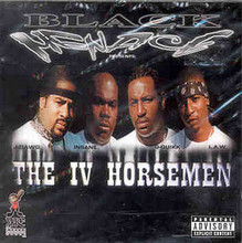 BLACK MENACE - The IV Horsemen