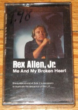 ALLEN, REX JR. - Me And My Broken Heart