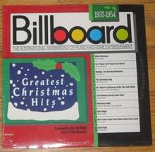 BILLBOARD GREATEST CHRISTMAS HITS 1935-1954 V.A.