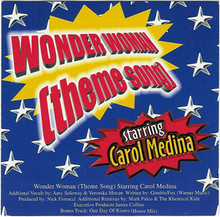 MEDINA, CAROL - Wonder Woman  CD