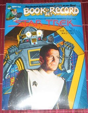 STAR TREK - The Robot Masters - Book & Record