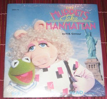 MUPPETS - Muppets Take Manhattan Book & Record